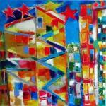 7日からギャラリー北野坂で日韓絵画交流展