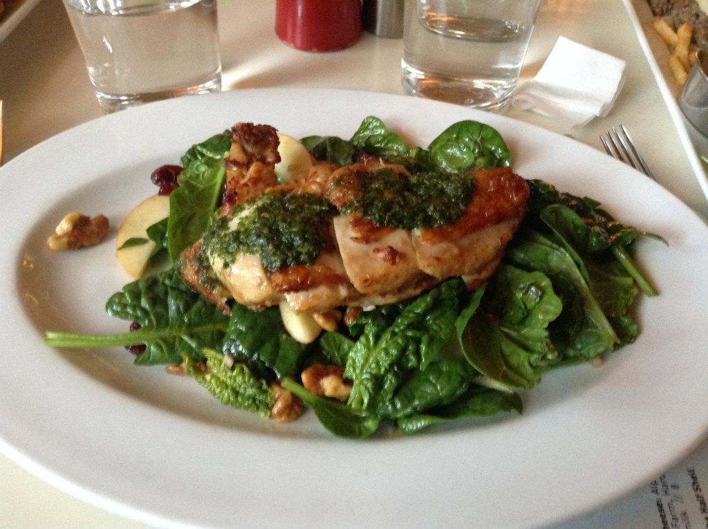 チキンのロースト&サラダ