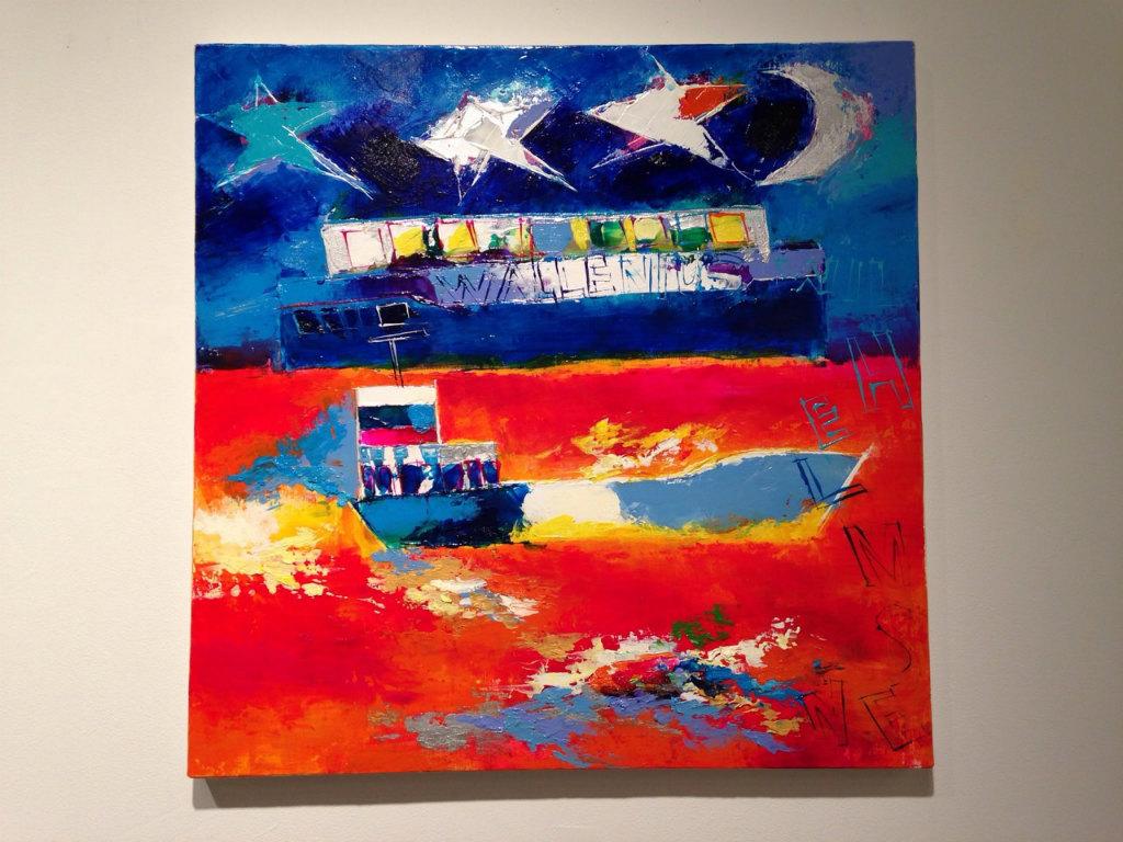 WALLENIUS Paintig  KINUGASA TAISUKE