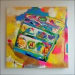 Taisuke Kinugasa paintings 「衣笠泰介ペインティングス」展,ゴールデンウィークに開催。4/28(火)~5/10(日), Gallery Little House(四条室町)
