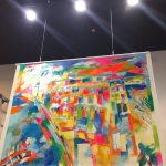 衣笠泰介絵画展「Miracle」10月23日まで、週末は溢れる色彩空間で笑顔に!@沖縄 RYCOM ANTHROPOLOGY プラザハウスショッピングセンター3F