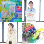 泰介絵画がシルクのスカーフに!「オンワード樫山  TAISUKE×JANE MORE 」から、全国各地百貨店で発売中!