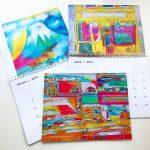 Taisuke Kinugasa 2019カレンダー、例年デザインで制作発売しました。